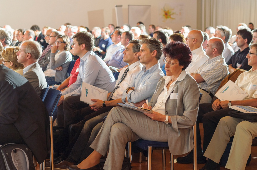 A Photograph of the Audience at an AGGLO Conference